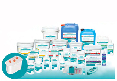 Productos químicos Fenix Piscinas